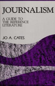 Cover of: Journalism | Jo A. Cates