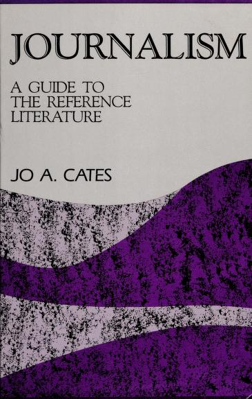 Journalism by Jo A. Cates